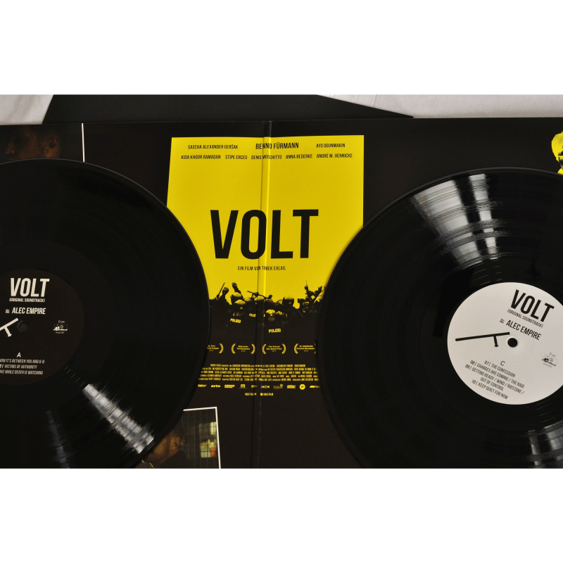 Alec Empire - Volt OST Vinyl 2-LP Gatefold  |  black