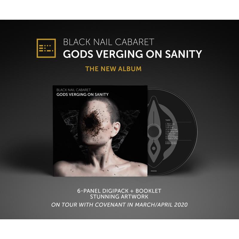 Black Nail Cabaret - Gods Verging On Sanity CD Digipak