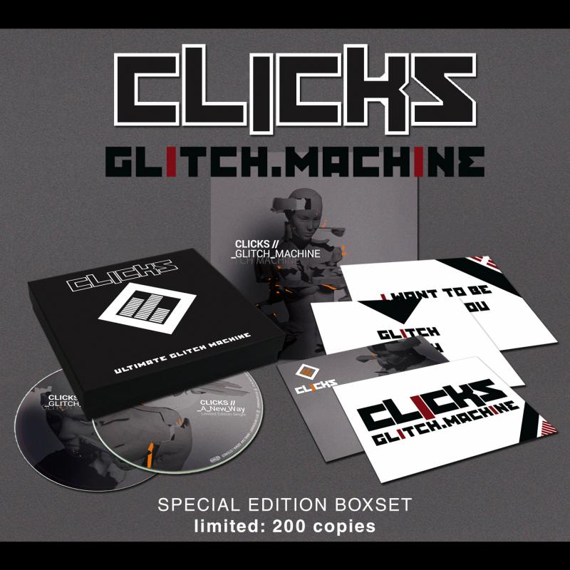 Clicks - Glitch Machine CD
