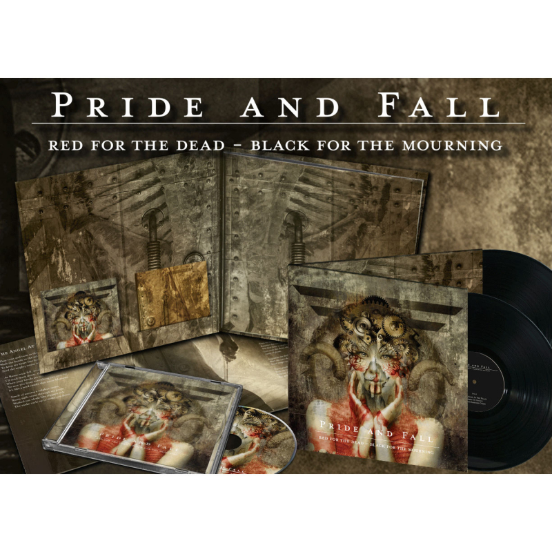 Pride And Fall - Red For The Dead - Black For The Mourning CD