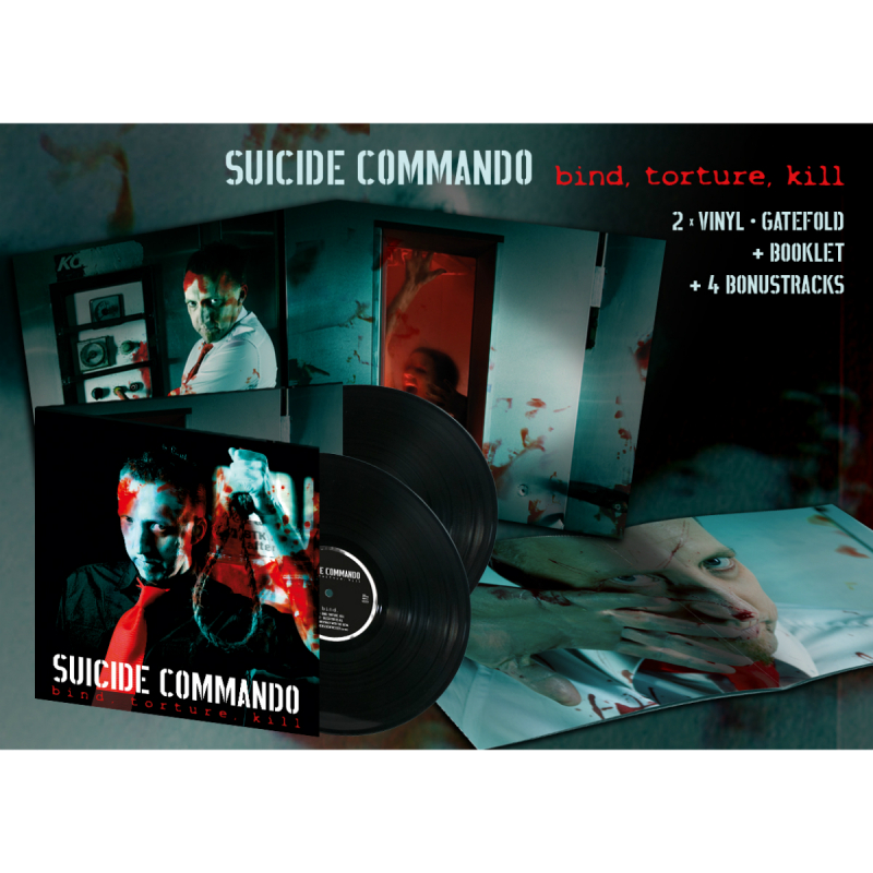 Suicide Commando - Bind,Torture,Kill Vinyl Gatefold LP  |  black