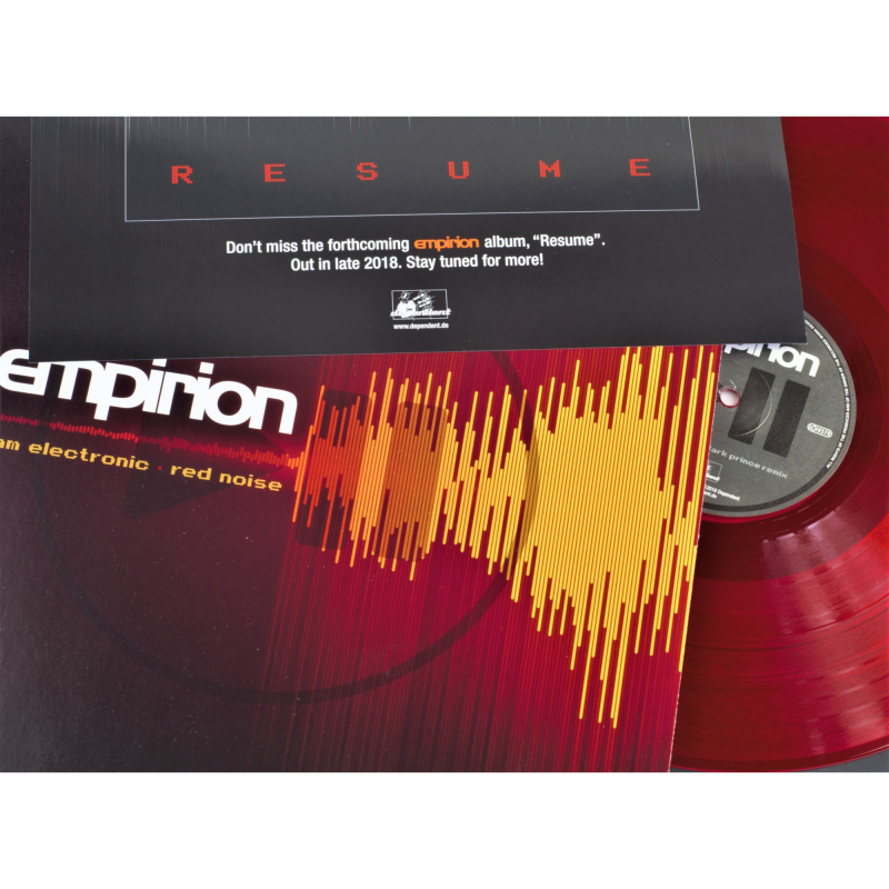 "Empirion - I Am Electronic/ Red Noise Vinyl 12"" EP  
