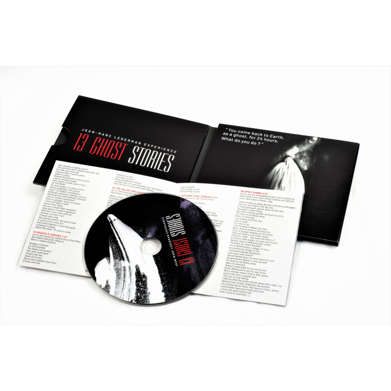 Jean-Marc Lederman Experience - 13 Ghost Stories CD Digipak