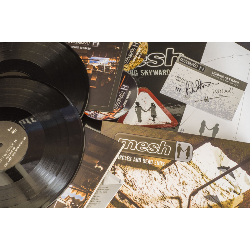 Mesh - Looking Skyward Vinyl 2-LP Gatefold  |  black