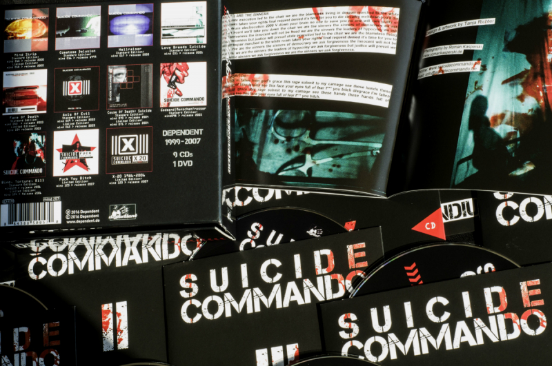 Suicide Commando - Compendium X30 CD-9+DVD-Box