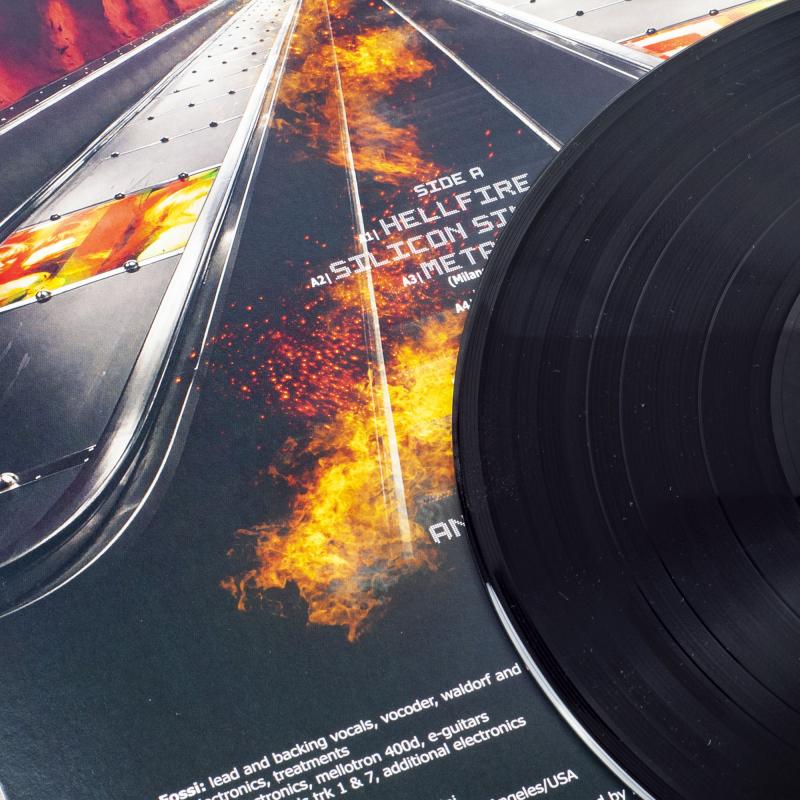Kirlian Camera - Hellfire Vinyl LP  |  Black
