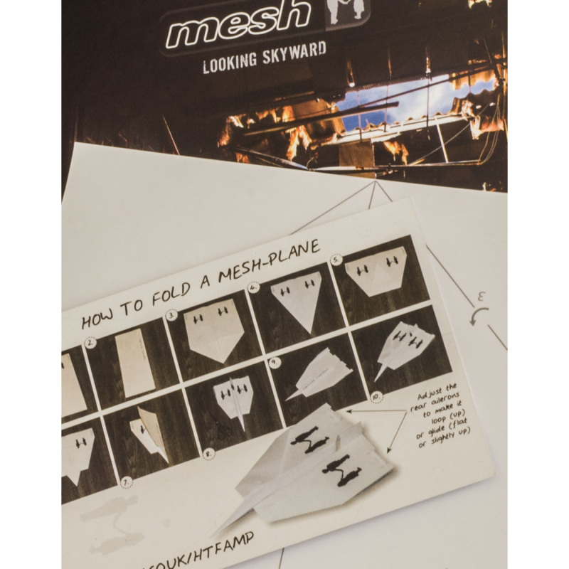 Mesh - Looking Skyward Complete Box     black