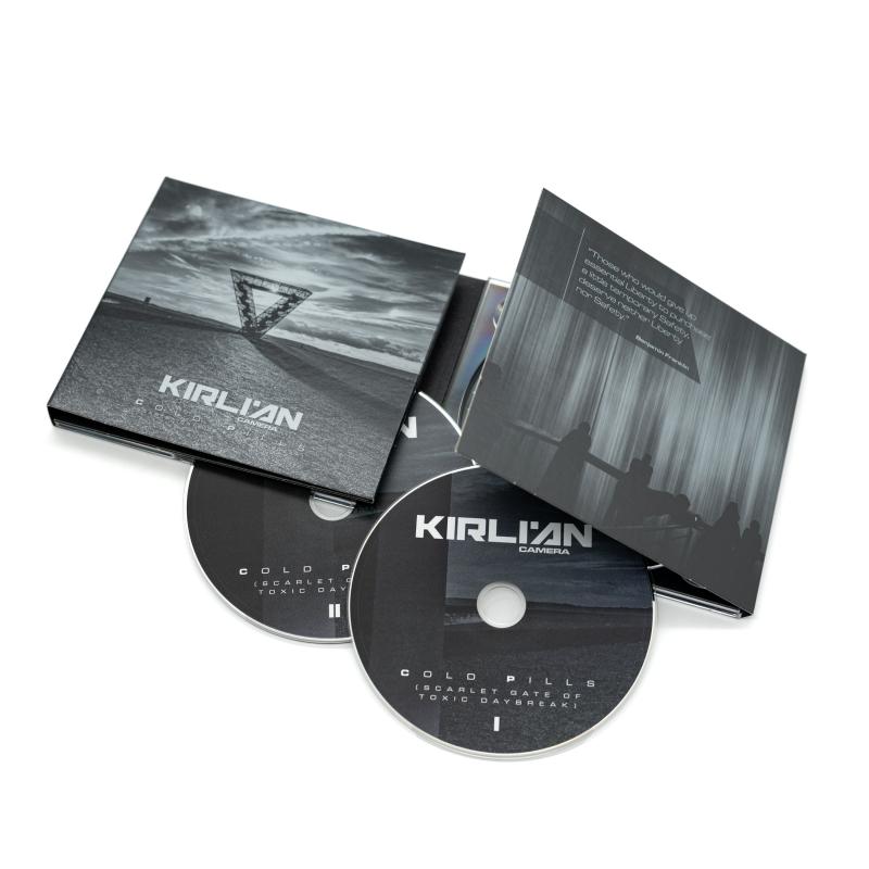 Kirlian Camera - Cold Pills (Scarlet Gate of Toxic Daybreak) CD-2 Digipak